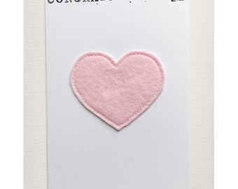 Pink Greetings Card - New Baby Card - Congratulations Card