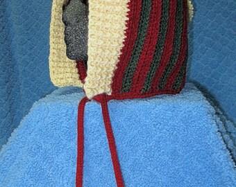 Crochet Winter Christmas Hood