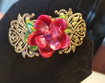 I Never Promised a Rose Garden Cuff Bracelet