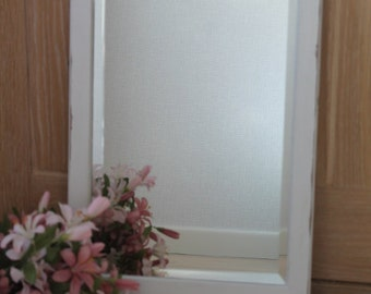 Vintage Hand Painted Wooden Mirror