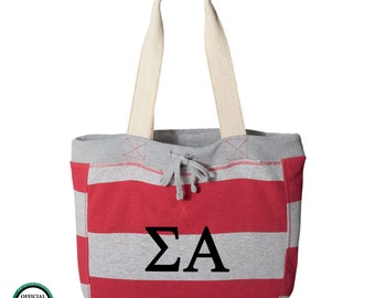 Letter tote   Etsy