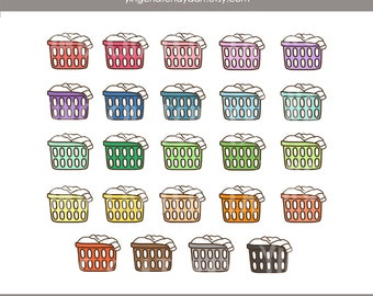 laundry basket clipart. Laundry Basket Clipart, Clip Art, Colorful Clipart