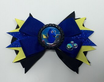 Dory - Finding Dory / Finding Nemo Disney Pixar Hair Bow