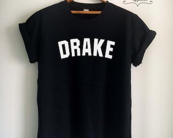 Drake Shirt Drake T-Shirt Drake Top Drizzy Shirt Drizzy T Shirt for Women Girls Men Tumblr Jersey Top Tee White/Black/Grey/Red