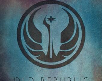Star Wars Old Republic Emblem Fan Art Digital Print