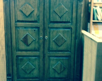 Wood Armoire/Entertainment Center