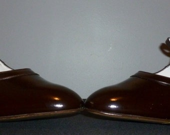Vintage 1960's Unworn Bally Mary Jane Shoes UK 7.5 - 8 Free UK Shipping