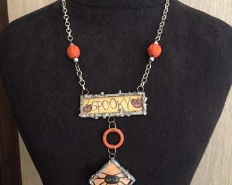 Handmade Halloween Necklace