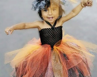 Witch tutu dress and hat!