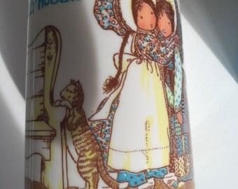 Vintage 1979 Holly Hobbie flask by Aladdin