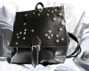 Star vinyl - Backpack Stars - 90 backpack-Vegan leather
