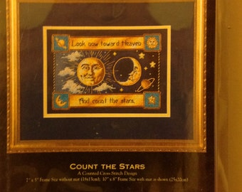 Count the Stars      Counted cross stitch kit