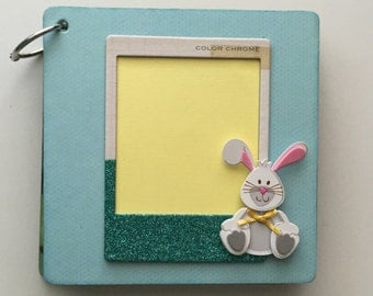 Easter  6x6 Mini Album // Custom Scrapbook // Photo Album // Easter Gift