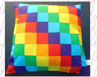 Six different rainbow colours Cushion/Pillow