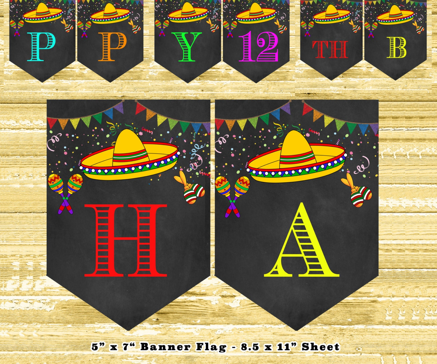 Mexican Themed Kitchen Decor Mexican Bunting Etsy