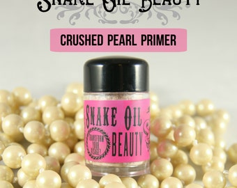 Pearl Primer Powder-Mineral Makeup-High Quality-6 month supply-Makes all makeup have sticking power