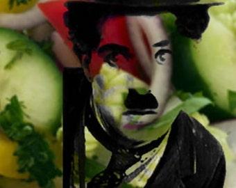 Chaplin 01 / 75 x 50 cm