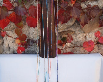 Necklace beads and tassel made in Bali
