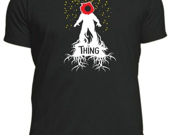 THE THING new T-Shirt classic horror movie 80'S Halloween John Carpenter male or female, different colours tee top