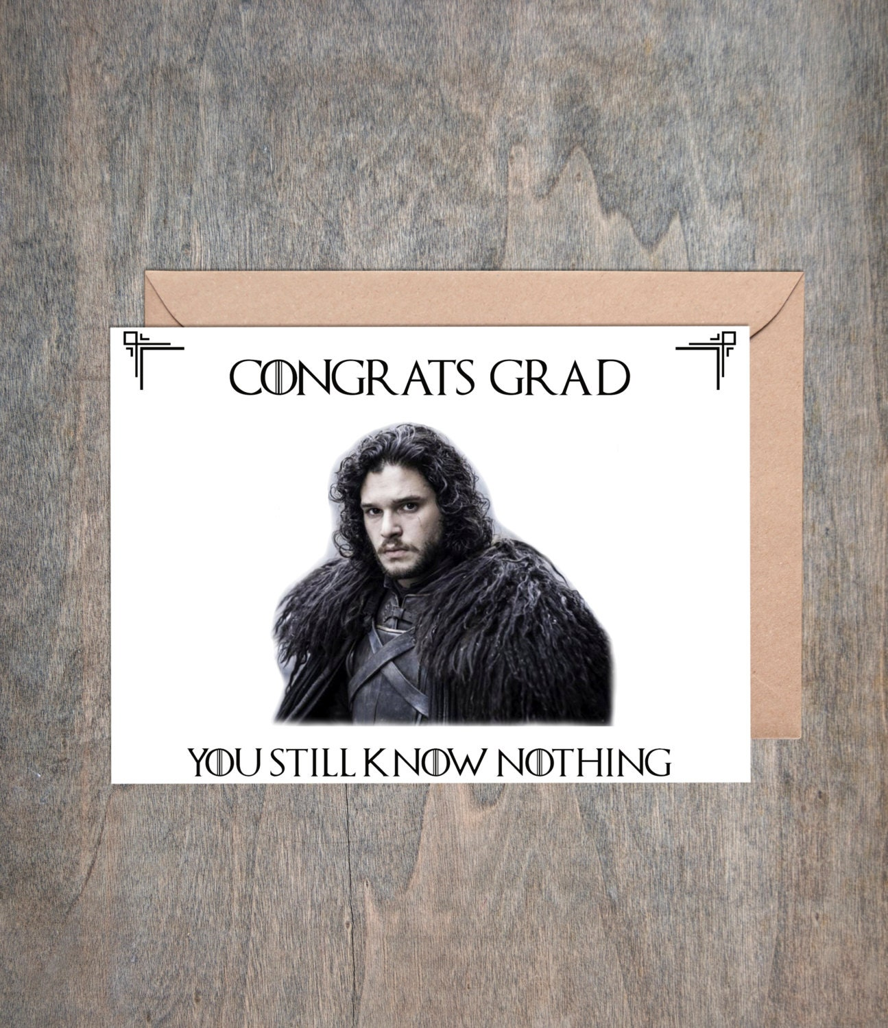 Game of Thrones Card Funny Birthday Card GOT Anniversary