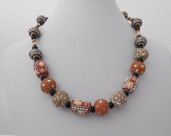 african style chocker necklace