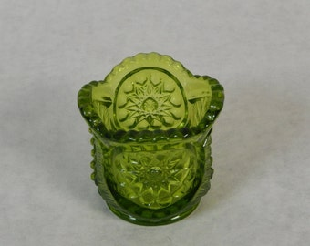 Green EAPG Toothpick Holder