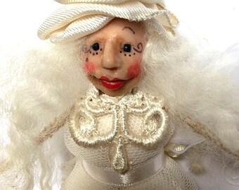 Angel, Angel Ornament, Christmas Ornament, Angel Doll