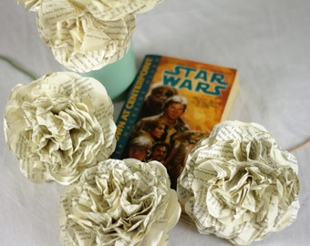 Star Wars Flower Bouquet Using A Second Hand Novel