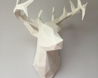 Stag's Head - made to order as this one has been sold. Contact me please, see below for time scale