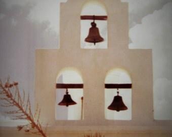 San Xavier Mission Chapel In Soft Shades Of Gray, Tucson, Arizona, USA #77