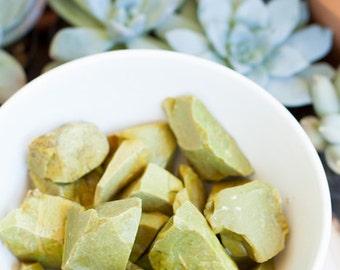 Green Opal Specimen | Green Opal Rough Stones | Healing Stones | Healing Crystals | Crystal Specimen