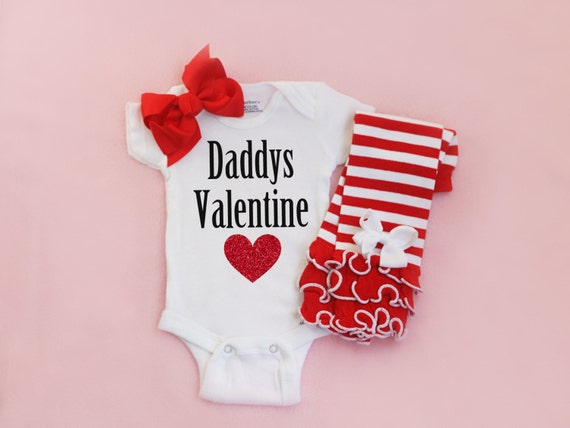 Baby Girls Valentines day outfit Baby Girl Clothes Baby