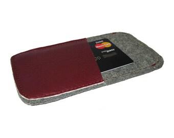 Iphone 5 felt case