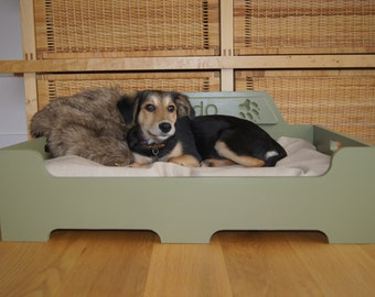 Personalised Luxury Wooden Dog Bed *Medium* Other sizes available see Shop