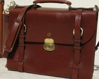 Bridle Leather Briefcase