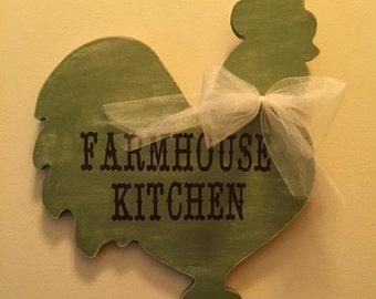 Farmhouse Kitchen Rooster