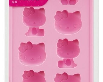 SANRIO Hello Kitty ice tray,Silicone Mold[B00CDJQ04Q]