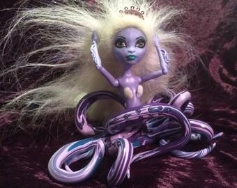 "Cecaelia Octopus Mermaid OoaK Doll ""Tempest"""