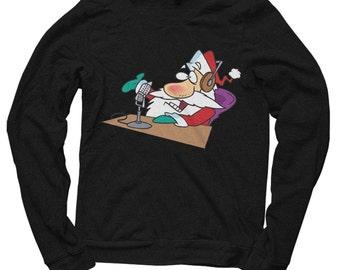 Santa radio Christmas Sweatshirt / jumper