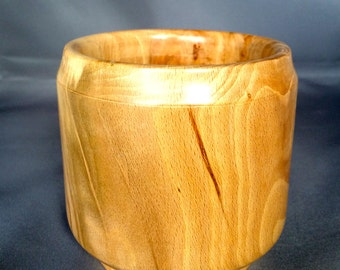 Beech wood pot