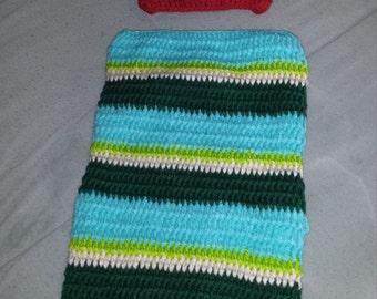 "Crochet ""Hungry Caterpillar"" custom"
