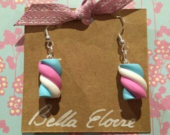 Marshmallow earring