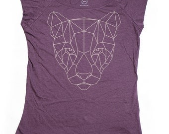 Ninus - Lioness, Hand-printed Bamboo Women's T-Shirt