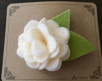 SALE: Felt Flower Hair Clip
