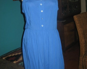 Forever 21 Royal Blue Crisscross Peekaboo Back Mini Dress