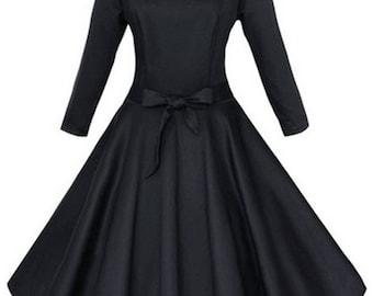 Vintage Style Skater Dress