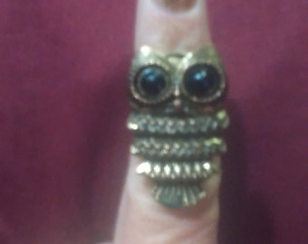 Who? Owl ring.