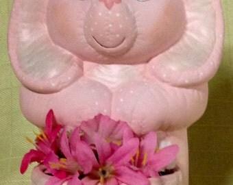 Ceramic Pink Bunny