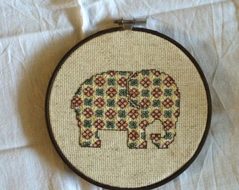 Colored Elephant - Stitching