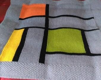 Wool Blanket - Mondrian
